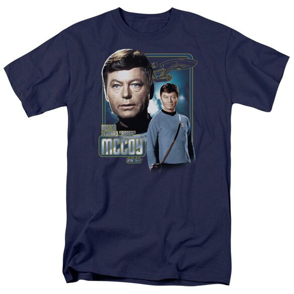 Star Trek Doctor Mccoy Short Sleeve Adult T-Shirt