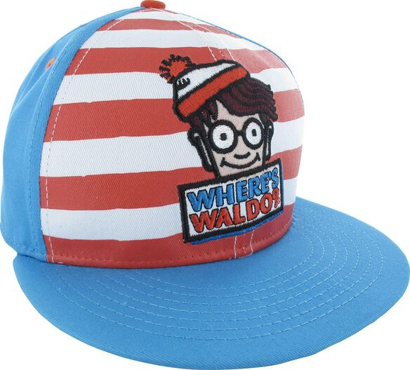 5d07a1c6c89 Images. Where s Waldo Name and Character Snapback Hat