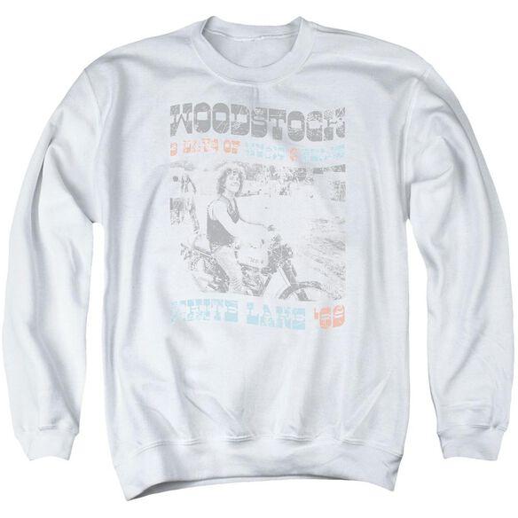Woodstock Rider Adult Crewneck Sweatshirt