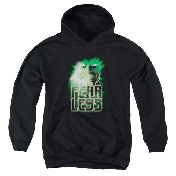 Green Lantern Fearless Youth Pull Over Hoodie