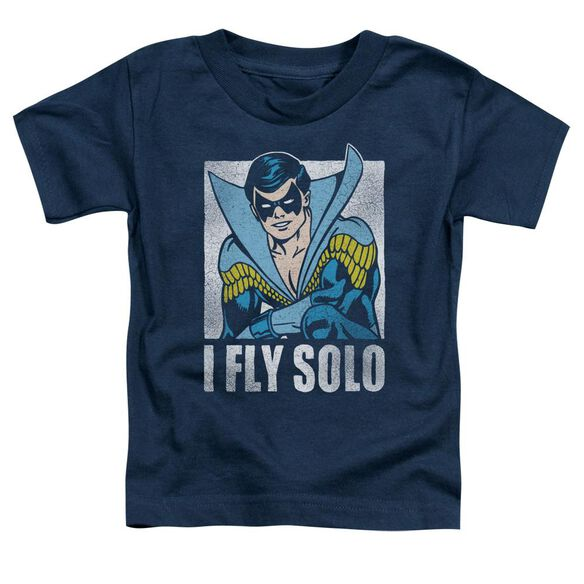 Dc Fly Solo Short Sleeve Toddler Tee Navy T-Shirt
