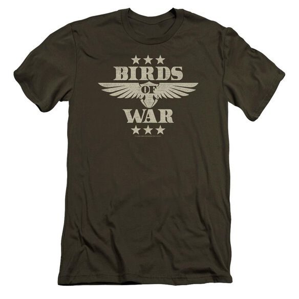Its Always Sunny In Philadelphia Birds Of War Premuim Canvas Adult Slim Fit Military