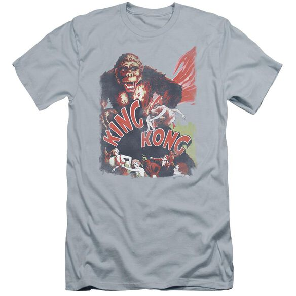 King Kong You Better Run Premuim Canvas Adult Slim Fit Light