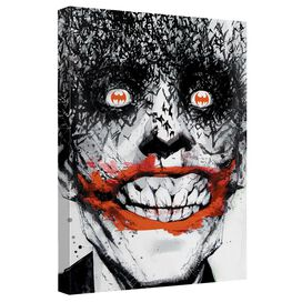Batman Joker Bats Canvas Wall Art With Back Board