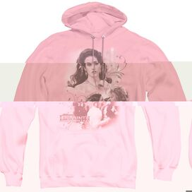 LABYRINTH SARAH - ADULT PULL-OVER HOODIE - PINK