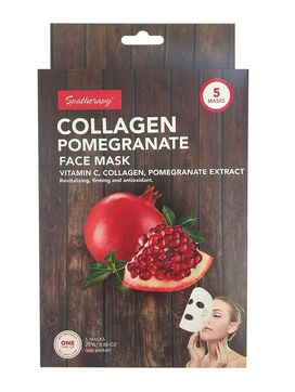 Spatherapy Collagen Pomegranate Face Mask - 5 Count