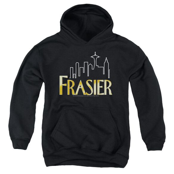 Frasier Frasier Logo-youth Pull-over Hoodie - Black