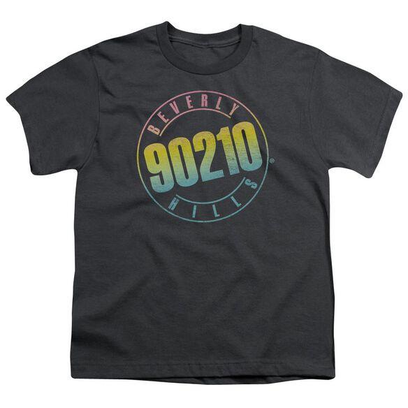 90210 Color Blend Logo Short Sleeve Youth T-Shirt