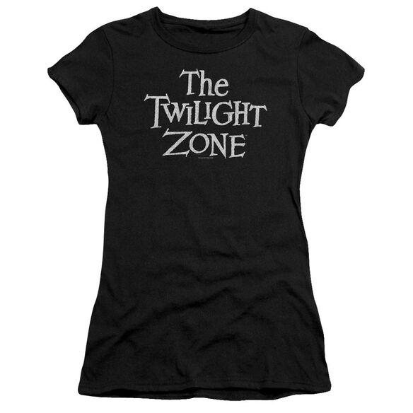 Twilight Zone Logo Premium Bella Junior Sheer Jersey