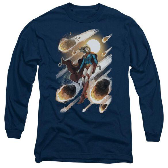 Jla Supergirl #1 Long Sleeve Adult T-Shirt