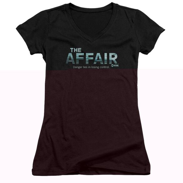 Affair Ocean Logo Junior V Neck T-Shirt