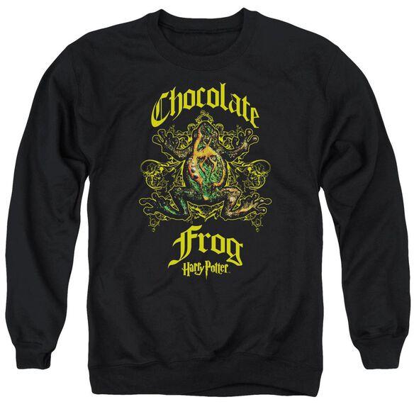Harry Potter Chocolate Frog Adult Crewneck Sweatshirt
