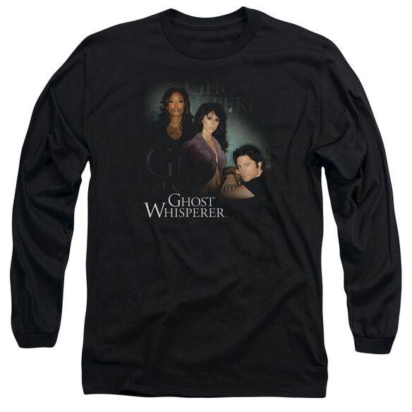 Ghost Whisperer Diagonal Cast Long Sleeve Adult T-Shirt