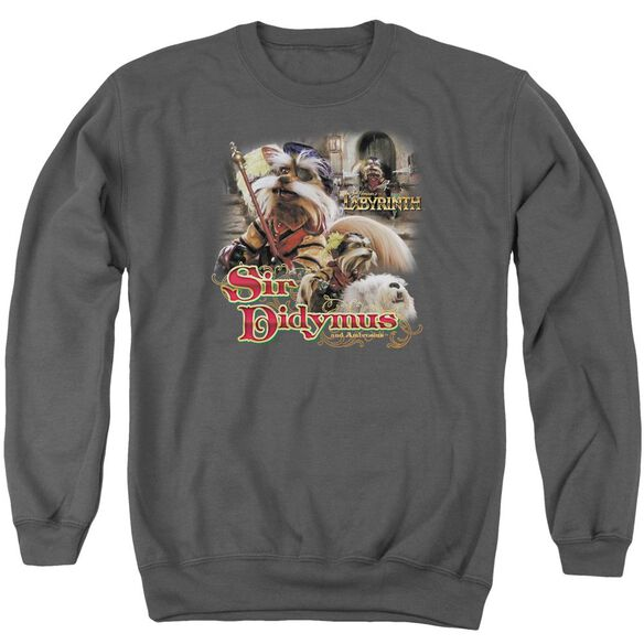 Labyrinth Sir Didymus Adult Crewneck Sweatshirt