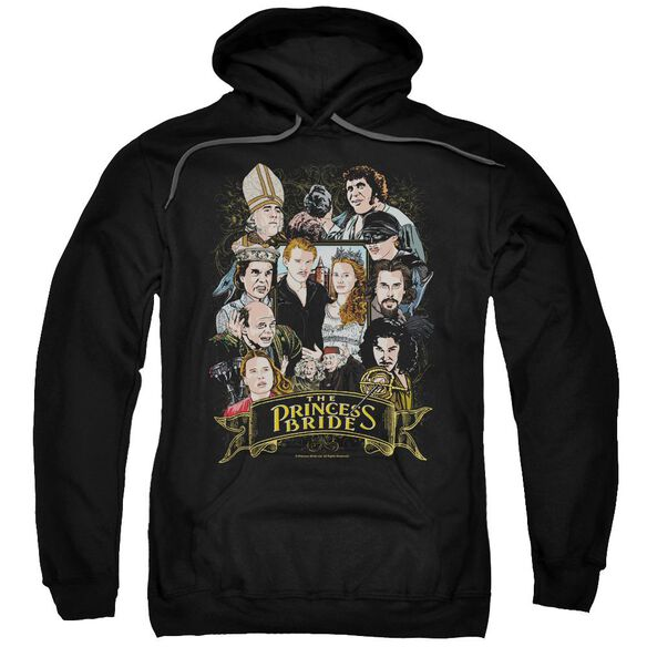 Princess Bride Timeless Adult Pull Over Hoodie Black