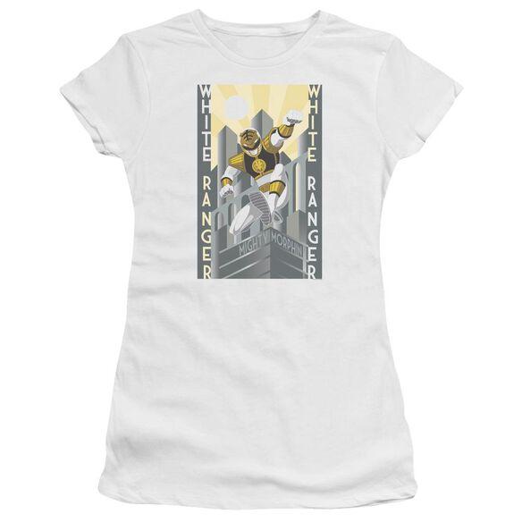 Power Rangers Ranger Duo Short Sleeve Junior Sheer T-Shirt