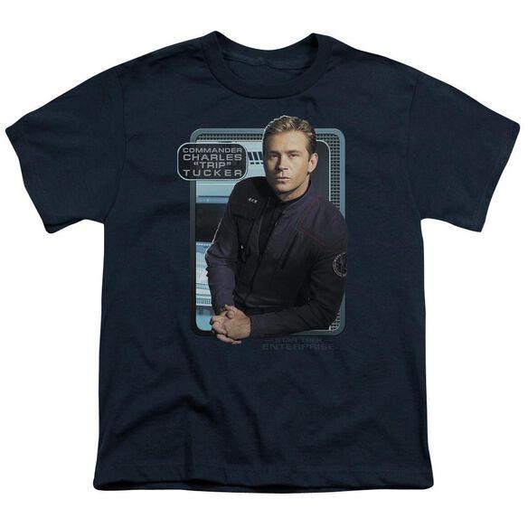 Star Trek Trip Tucker Short Sleeve Youth T-Shirt
