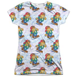 Garfield Cool Cat Short Sleeve Junior Poly Crew T-Shirt