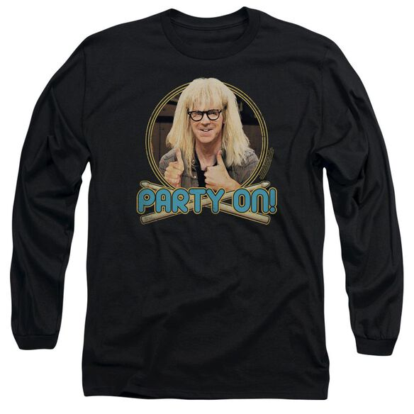 Snl Party On Garth Long Sleeve Adult T-Shirt
