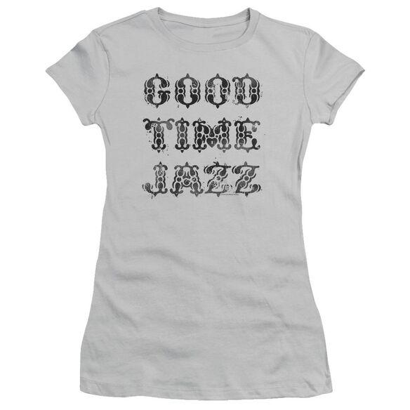 Good Time Jazz Gtj Vintage Short Sleeve Junior Sheer T-Shirt
