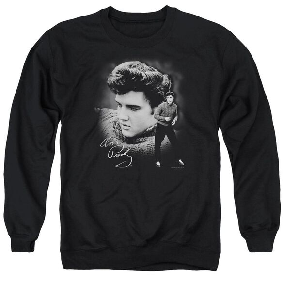Elvis Sweater Adult Crewneck Sweatshirt