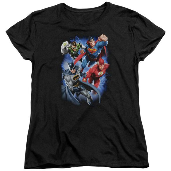 Jla Storm Makers Short Sleeve Womens Tee T-Shirt