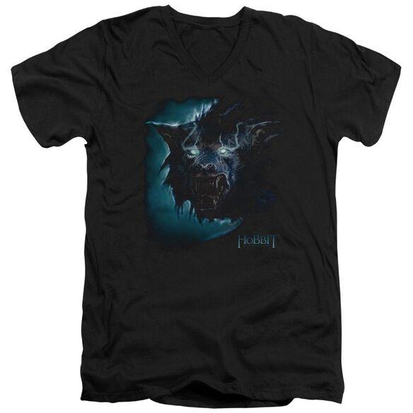 The Hobbit Warg Short Sleeve Adult V Neck T-Shirt