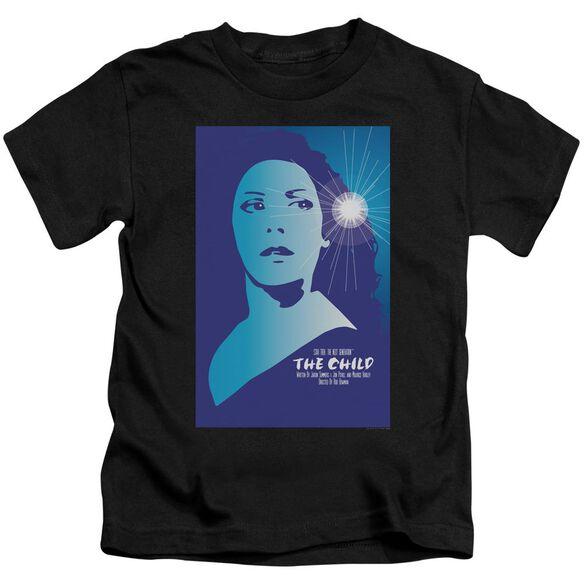 Star Trek Tng Season 2 Episode 1 Short Sleeve Juvenile Black Md T-Shirt