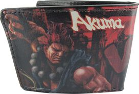 Street Fighter Ryu vs Akuma Wallet