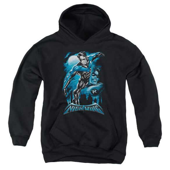 Batman All Grown Up Youth Pull Over Hoodie