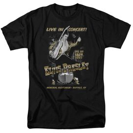Elvis Live In Buffalo Short Sleeve Adult T-Shirt