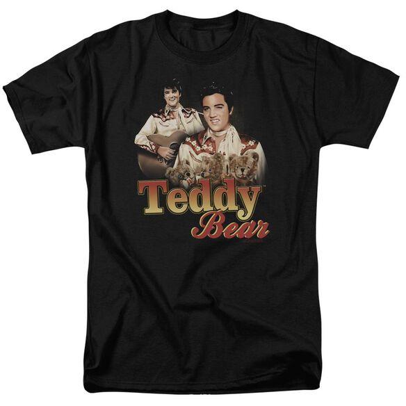 Elvis Teddy Bear Short Sleeve Adult T-Shirt