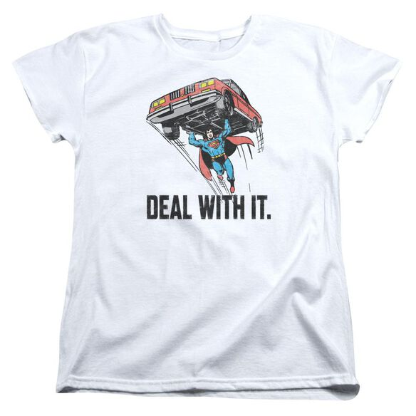 Dco Deal With It Short Sleeve Womens Tee T-Shirt