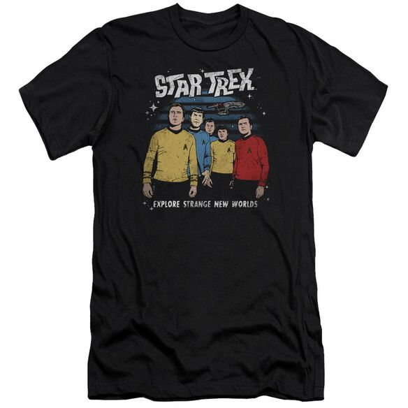 Star Trek Stange New World Premuim Canvas Adult Slim Fit