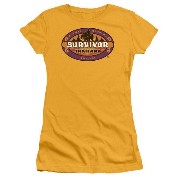 SURVIVOR THAILAND - S/S JUNIOR SHEER - GOLD T-Shirt