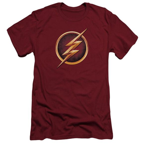 The Flash Chest Logo Short Sleeve Adult T-Shirt