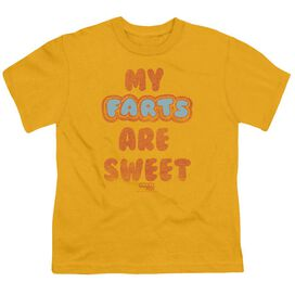 Farts Candy Sweet Farts Short Sleeve Youth T-Shirt