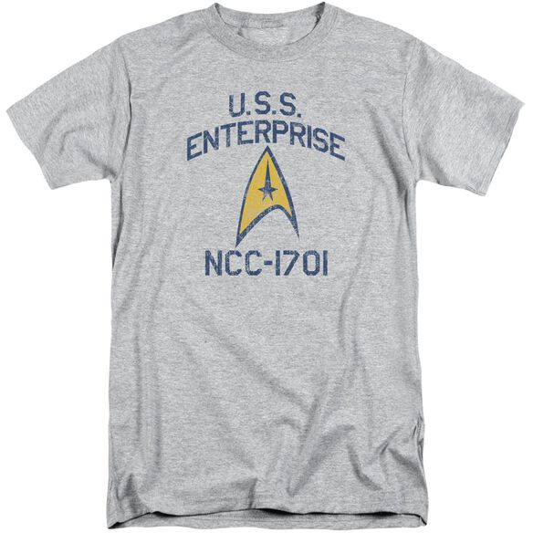 Star Trek Collegiate Arch Short Sleeve Adult Tall Athletic T-Shirt
