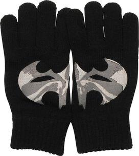 Batman Split Camouflage Logo Gloves