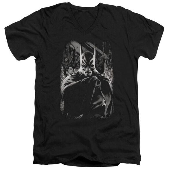Batman Detective 821 Cover Short Sleeve Adult V Neck T-Shirt