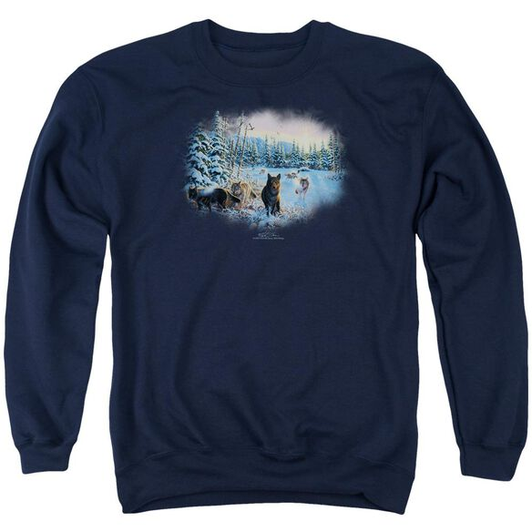 Wildlife Hunter'S Moon The Spoils Adult Crewneck Sweatshirt