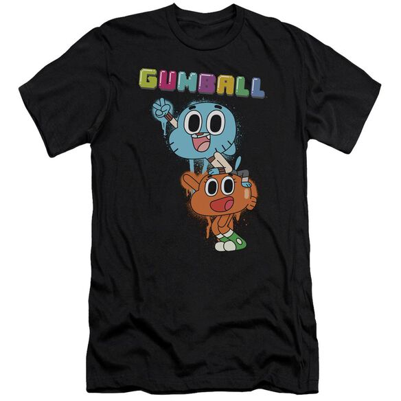 Amazing World Of Gumball Gumball Spray Hbo Short Sleeve Adult T-Shirt