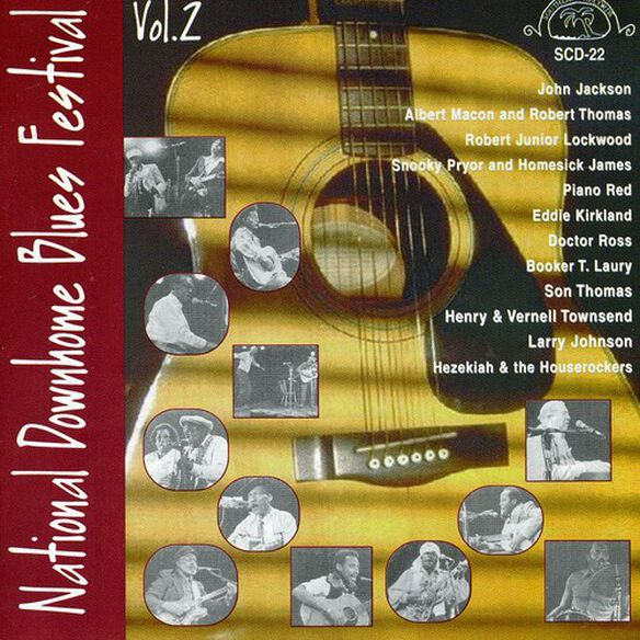 Various Artists - National Downhome Blues Festival, Vol. 2