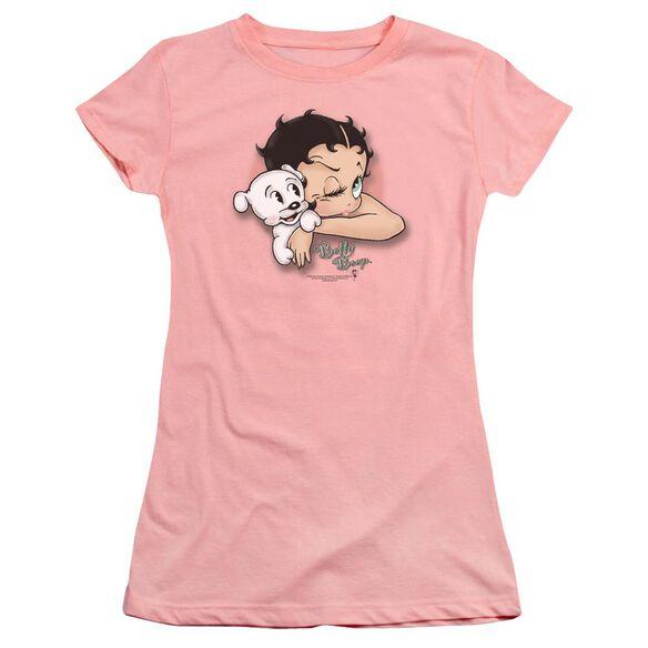 Betty Boop Wink Wink Premium Bella Junior Sheer Jersey