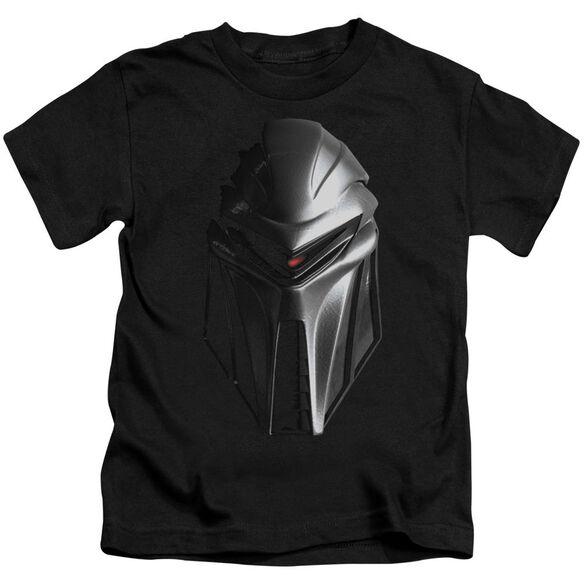 BSG CYLON HEAD - S/S JUVENILE 18/1 - BLACK - T-Shirt