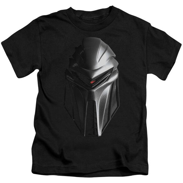 Bsg Cylon Head Short Sleeve Juvenile Black T-Shirt