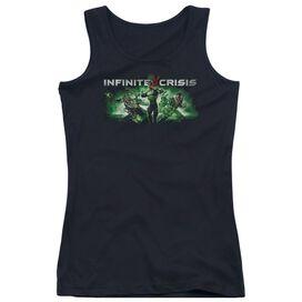 Infinite Crisis Ic Green Juniors Tank Top