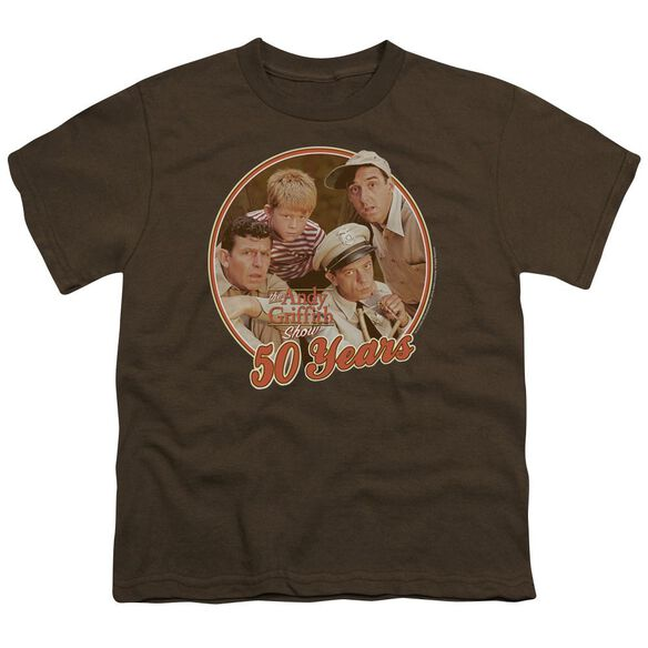 Andy Griffith 50 Years Short Sleeve Youth T-Shirt