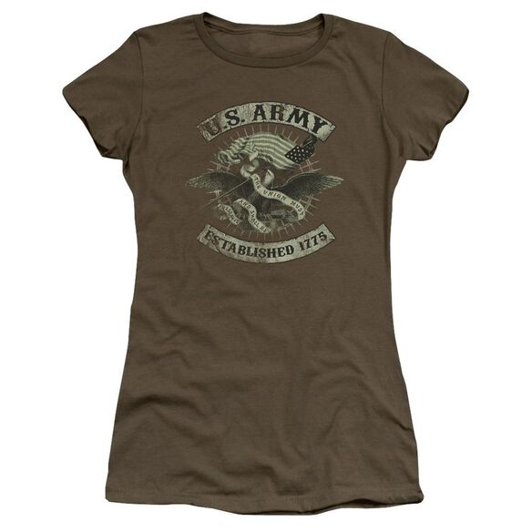 Army Union Eagle Premium Bella Junior Sheer Jersey Military