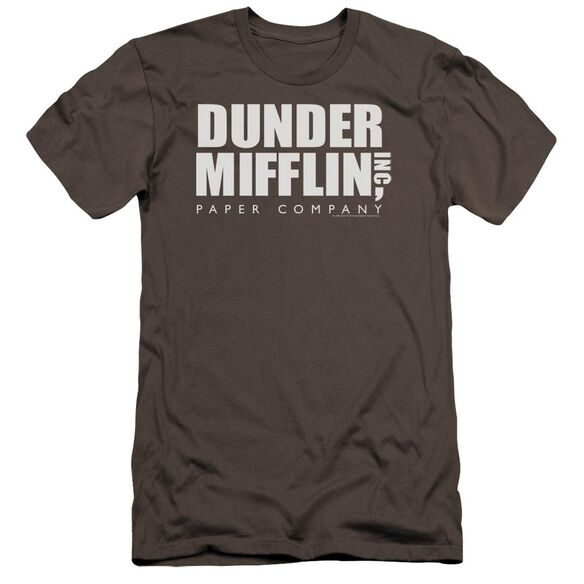 The Office Dunder Mifflin Premuim Canvas Adult Slim Fit